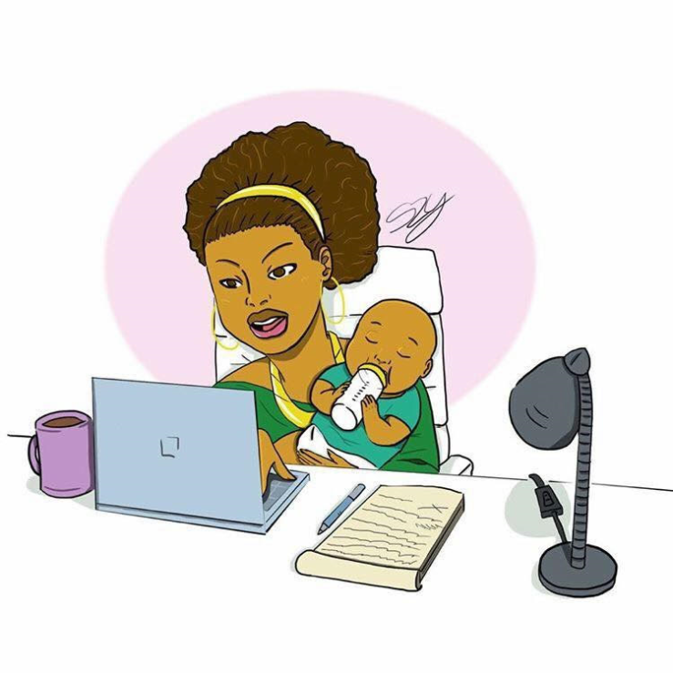 WOMAN AND MOM ORDI BUREAU